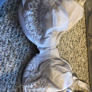 2 Olga bras used 42D tan and one white